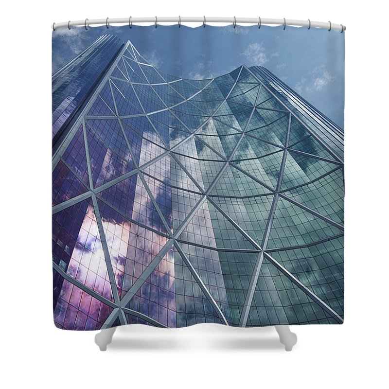 Calgary Downtown In #canada - Unique Shower Curtains - 71 X 74 Standard - Shower Curtain