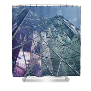 Calgary Downtown In #canada - Unique shower curtains