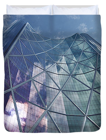 Calgary Downtown In #canada - Duvet Cover