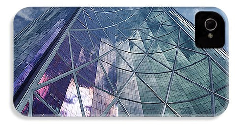 Image of Calgary Downtown In #canada - Phone Case - Iphone 4 Case - Phone Case