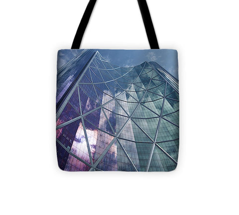 Image of Calgary Downtown In #canada - Tote Bag - 13 X 13 - Tote Bag