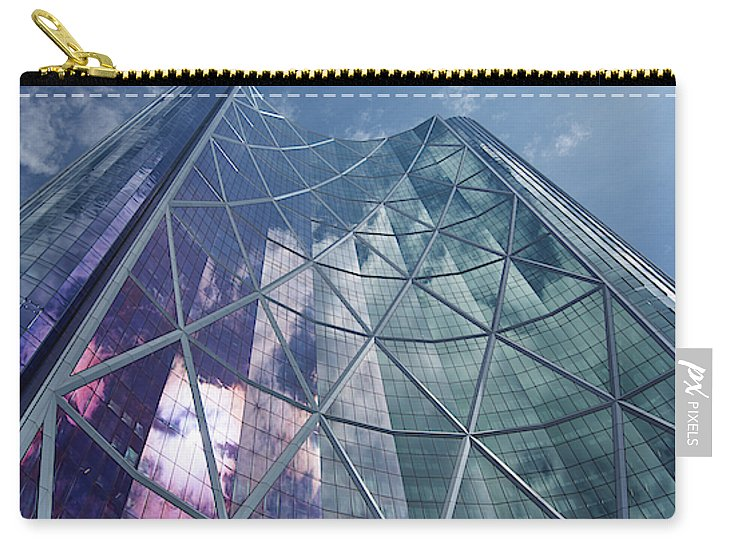 Calgary Downtown In #canada - Carry-All Pouch - Small (6 X 4) - Carry-All Pouch