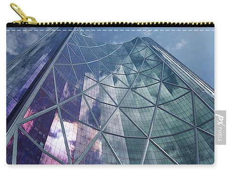 Image of Calgary Downtown In #canada - Carry-All Pouch - Small (6 X 4) - Carry-All Pouch