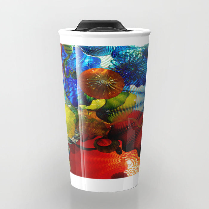 Travel Mugs - Art Of Dale Chihuly - Travel Mug