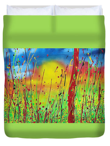 Image of Colouring My World - Duvet Cover