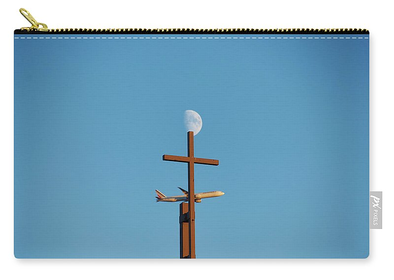Cross Moon Et Avion - Sac De Transport - Moyen (9.5 X 6) - Sac De Transport