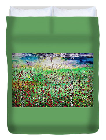 Image of Dancing In The Wind - Duvet Cover