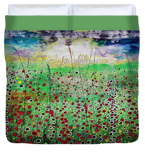 Dancing In The Wind - Duvet Cover