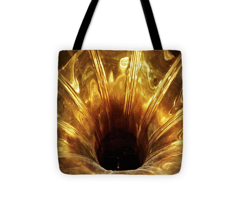 Image of Disc Jokey - Tote Bag - 13 X 13 - Tote Bag