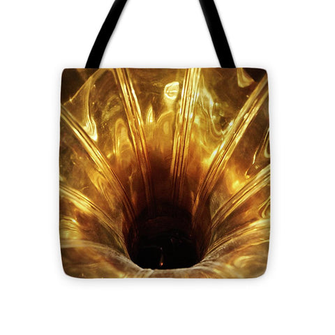 Image of Disc Jokey - Tote Bag - 16 X 16 - Tote Bag