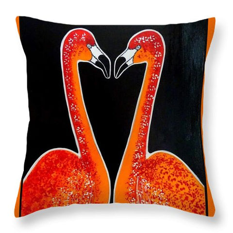 Duo - Throw Pillow