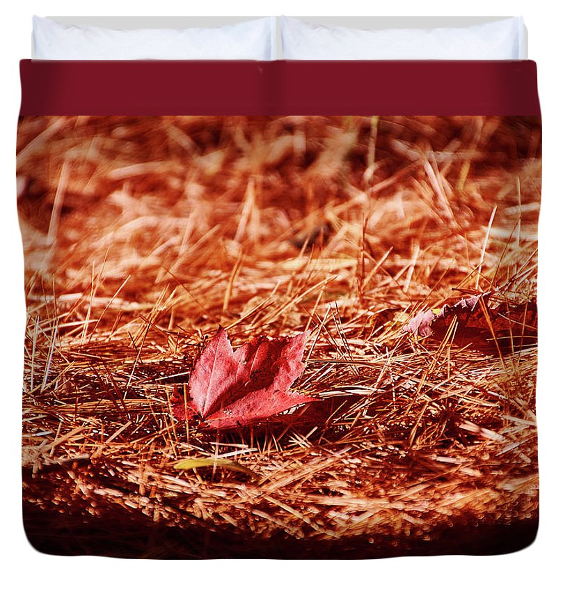 Fall In #canada - Duvet Cover - King - Duvet Cover