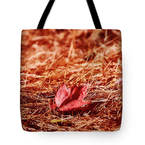 Image of Fall In #canada - Tote Bag - 18 X 18 - Tote Bag