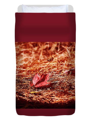 Image of Fall In #canada - Duvet Cover - Twin - Duvet Cover