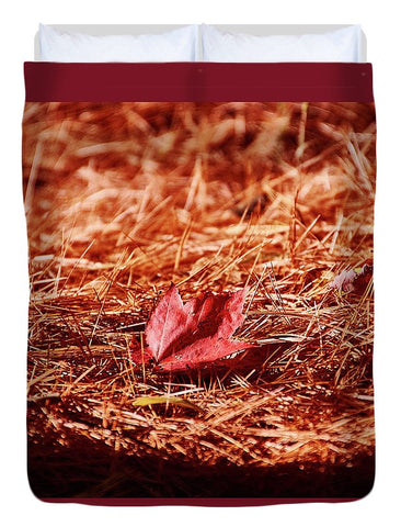 Image of Fall In #canada - Duvet Cover - Full - Duvet Cover