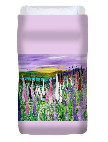 Field With Lupins - Housse de couette