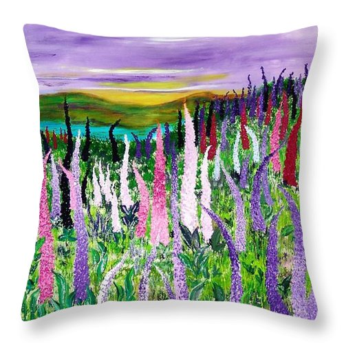 Champ Aux Lupins - Coussin