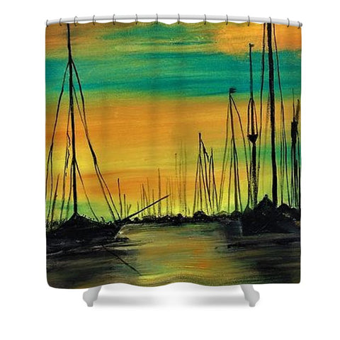 For Anchor Morninglight - Shower Curtain