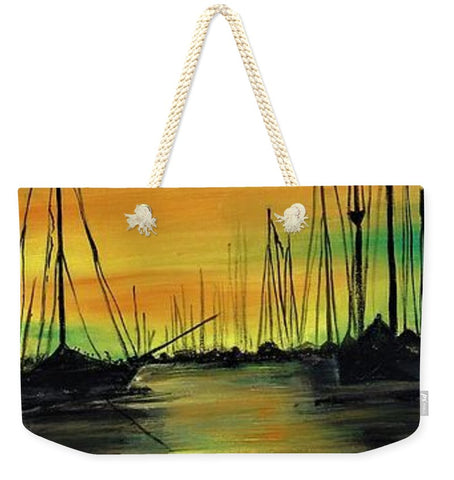 For Anchor Morninglight - Weekender Tote Bag