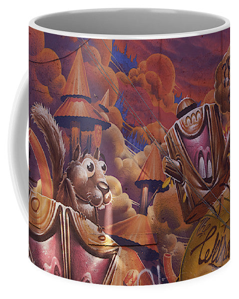 Funny Graffiti In Montreal - Mug - Small (11 Oz.) - Mugs