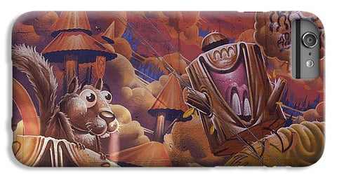 Image of Funny Graffiti In Montreal - Phone Case - Iphone 7 Plus Case - Phone Case