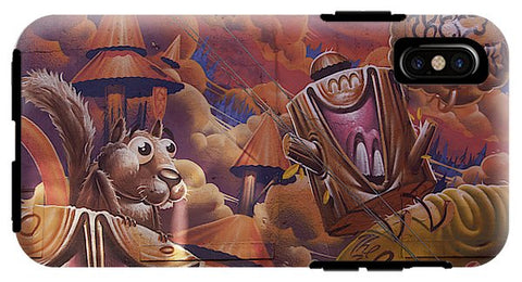 Image of Funny Graffiti In Montreal - Phone Case - Iphone Xs Tough Case - Phone Case