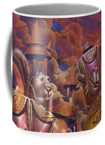 Image of Funny Graffiti In Montreal - Mug - Large (15 Oz.) - Mugs