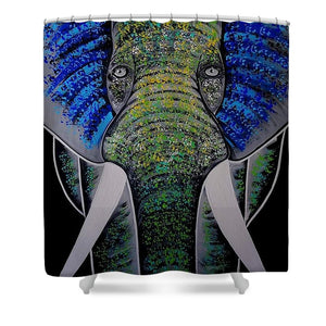 Ganesha - Shower Curtain