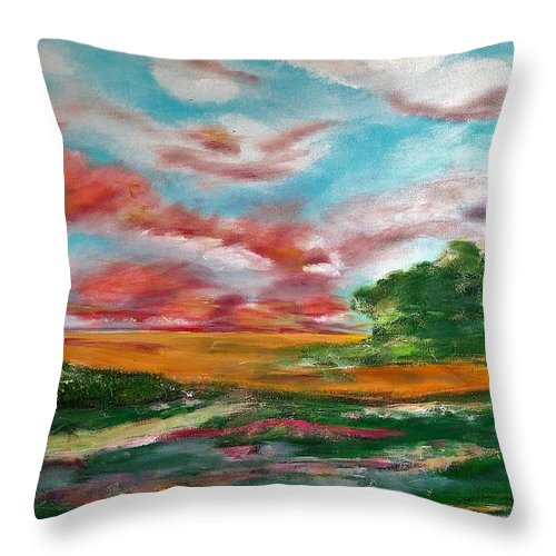 God's Window - Throw Pillow