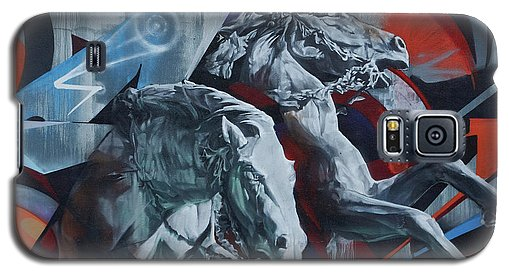 Graffiti Horses In #montreal - Phone Case - Galaxy S5 Case - Phone Case