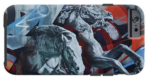 Image of Graffiti Horses In #montreal - Phone Case - Iphone 6S Tough Case - Phone Case
