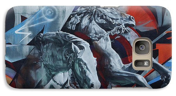 Graffiti Horses In #montreal - Phone Case