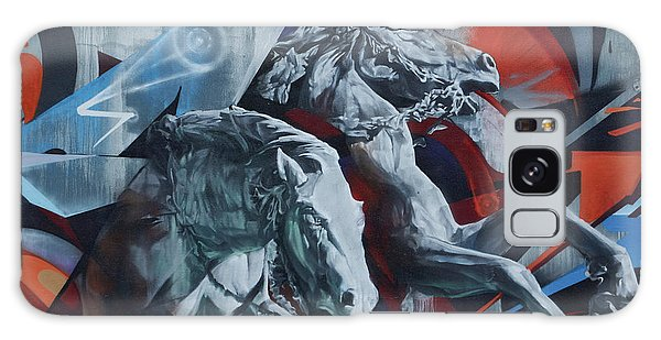 Graffiti Horses In #montreal - Phone Case - Galaxy S8 Case - Phone Case