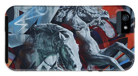 Image of Graffiti Horses In #montreal - Phone Case - Iphone 5 Tough Case - Phone Case