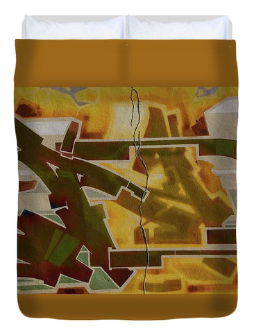 Image of Graffiti In Montreal - Duvet Cover - Full - Duvet Cover