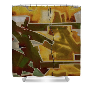 Graffiti In Montreal - Shower Curtain - 71 X 74 Standard - Shower Curtain