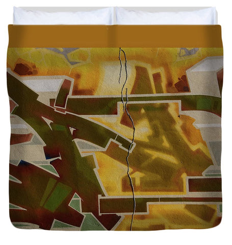 Image of Graffiti In Montreal - Duvet Cover - King - Duvet Cover