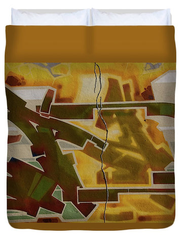 Image of Graffiti In Montreal - Duvet Cover - Queen - Duvet Cover