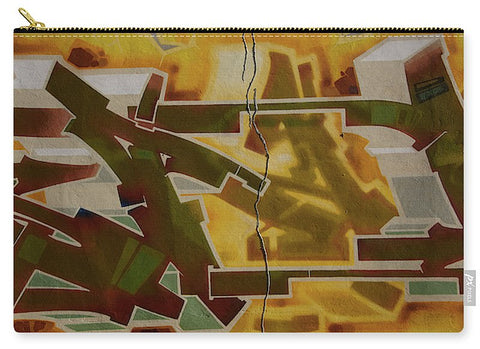 Image of Graffiti In Montreal - Carry-All Pouch - Large (12.5 X 8.5) - Carry-All Pouch