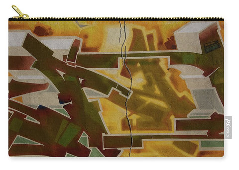 Image of Graffiti In Montreal - Carry-All Pouch - Medium (9.5 X 6) - Carry-All Pouch