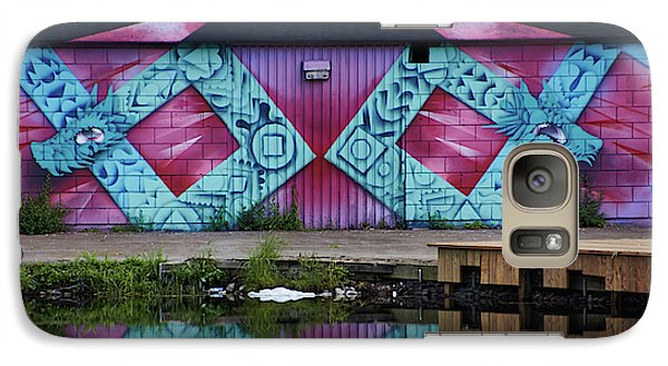 Graffiti In #paris - Phone Case - Galaxy S7 Case - Phone Case