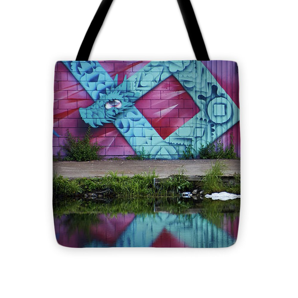 Graffiti In #paris - Tote Bag - 16 X 16 - Tote Bag
