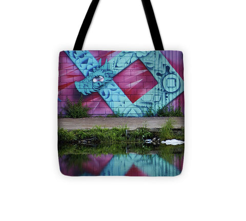 Image of Graffiti In #paris - Tote Bag - 13 X 13 - Tote Bag