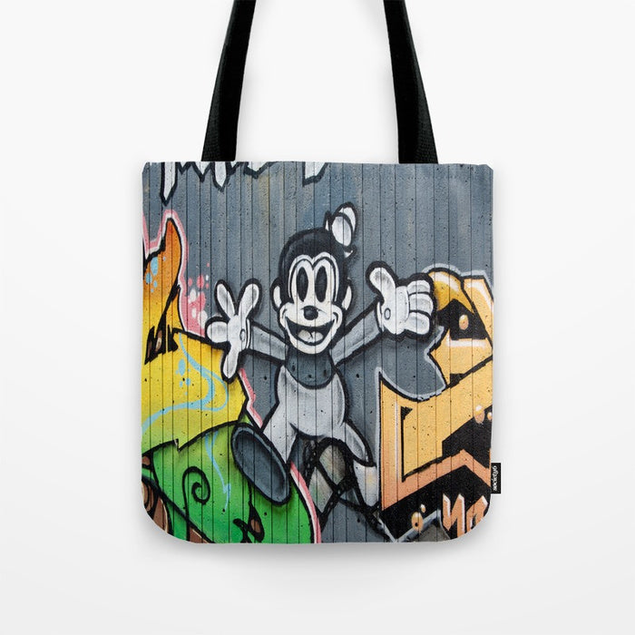 Tote Bag - Graffiti Picture - Tote Bag
