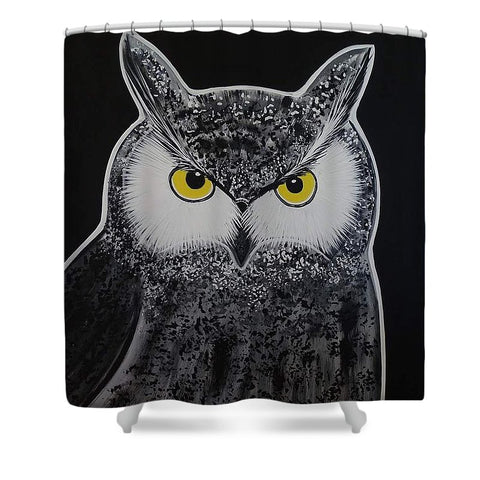 Grand Duc - Shower Curtain