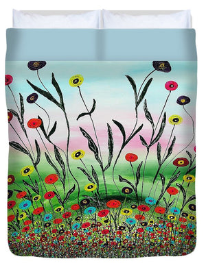Growing To The Light - Duvet Cover