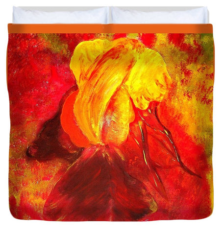 Image of Her Name Is Iris - Duvet Cover