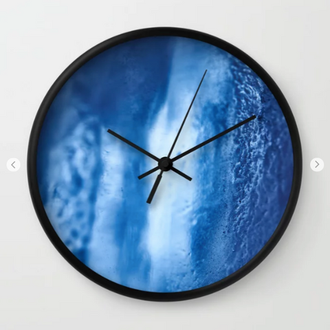 Wall clock - Iceland or just ice?