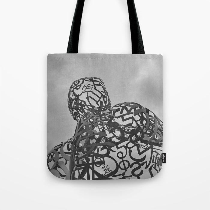 Tote Bag - Iron Statue In Montreal Canada - Tote Bag