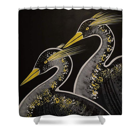 La Danse Des Herons - Shower Curtain